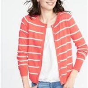 🌸Old Navy Classic Striped Cardigan